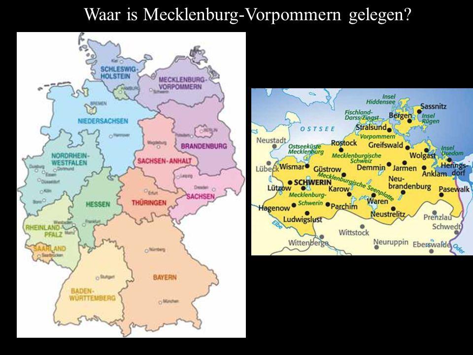 Waar is Mecklenburg-Vorpommern gelegen?