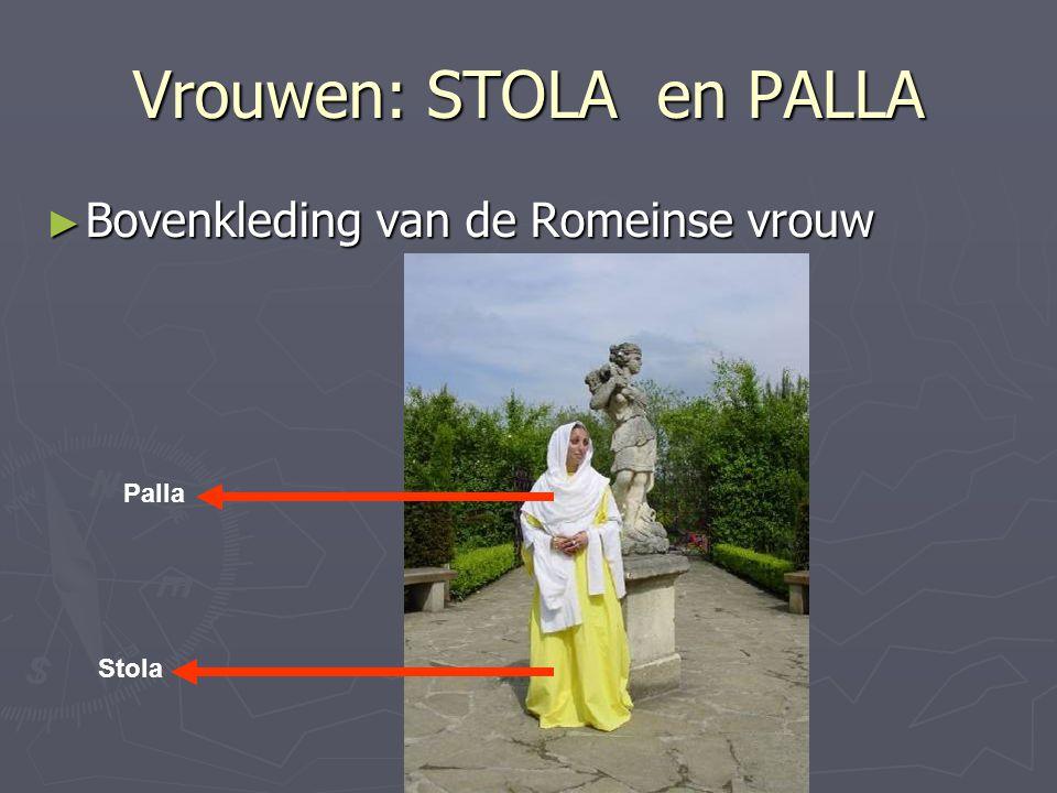 Vrouwen: STOLA en PALLA ► Bovenkleding van de Romeinse vrouw Palla Stola