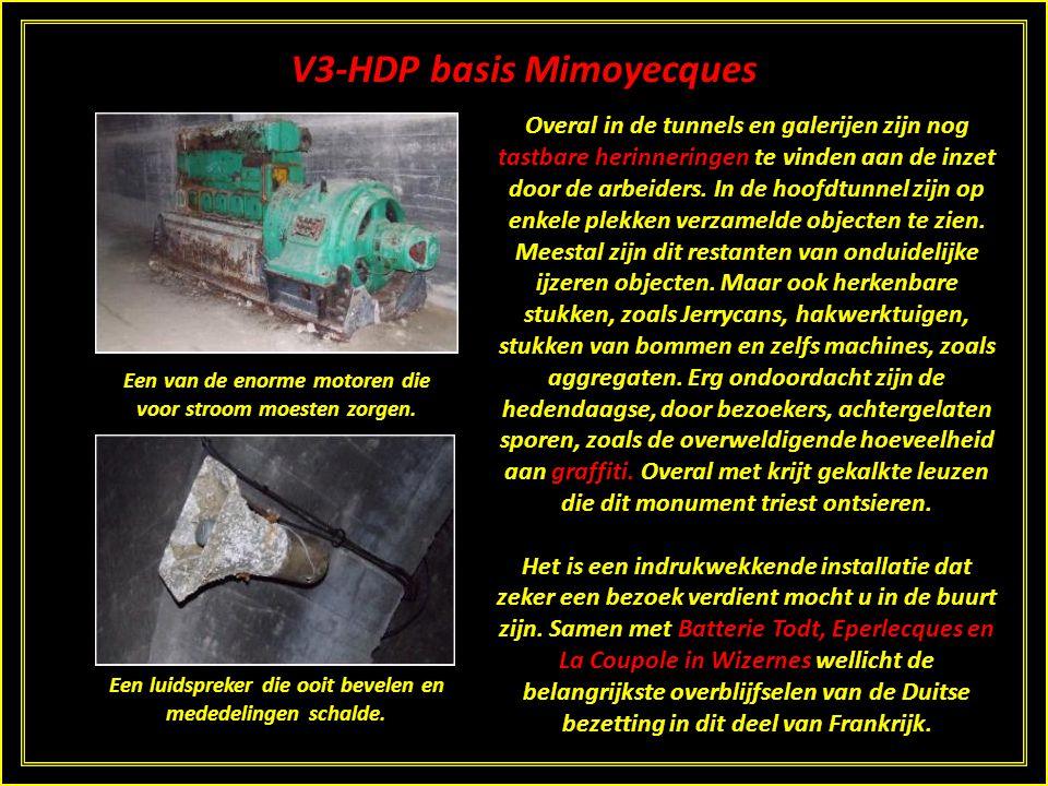 V3-HDP basis Mimoyecques Een B-24J Liberator. Met een soortgelijk toestel vloog Kennedy.