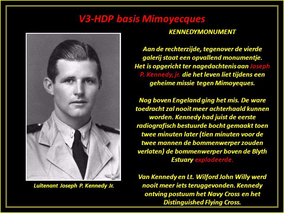 V3-HDP basis Mimoyecques De lanceerinstelling was na alle bombardementen volkomen onbruikbaar geworden. Nadat de Canadezen Mimoyecques hadden ingenome