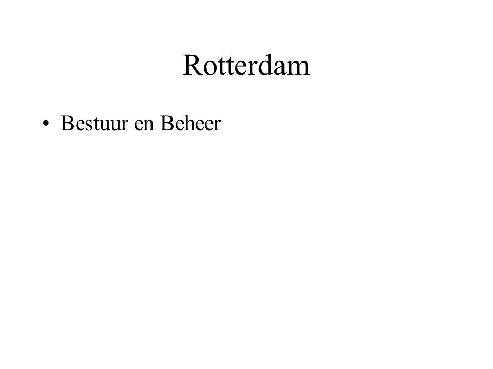 Rotterdam •Bestuur en Beheer