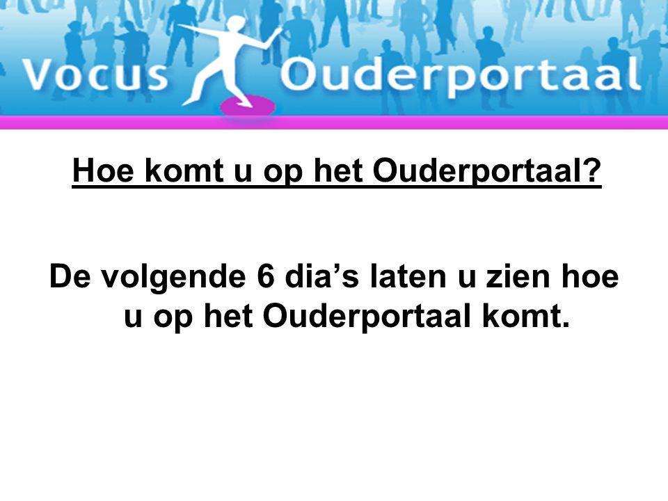 Ga naar: www.canisius.nl en klik hier het Ouderportaal aan.www.canisius.nl