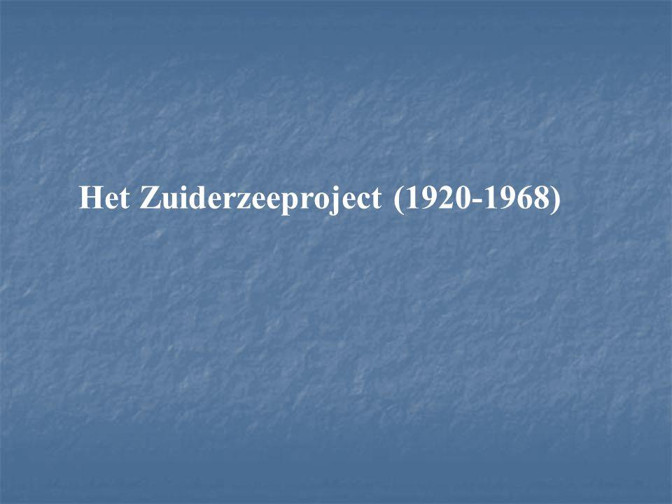 Het Zuiderzeeproject (1920-1968)
