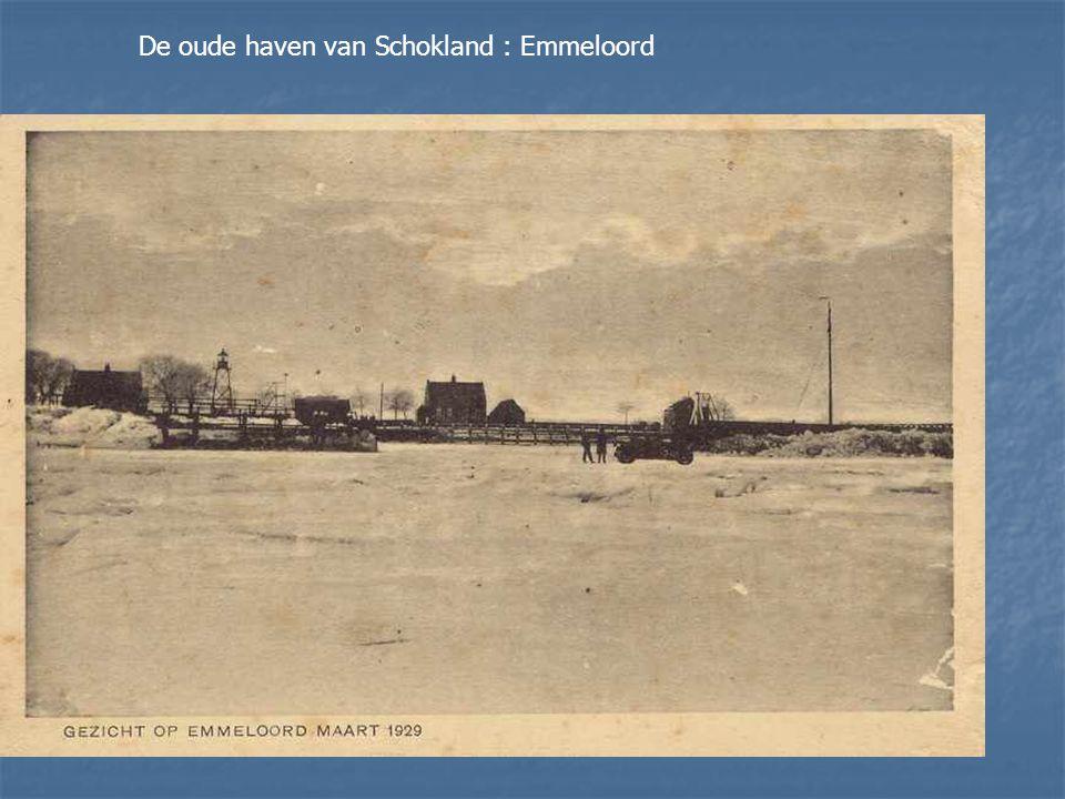 De oude haven van Schokland : Emmeloord