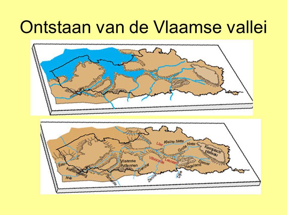 Ontstaan van de Vlaamse vallei