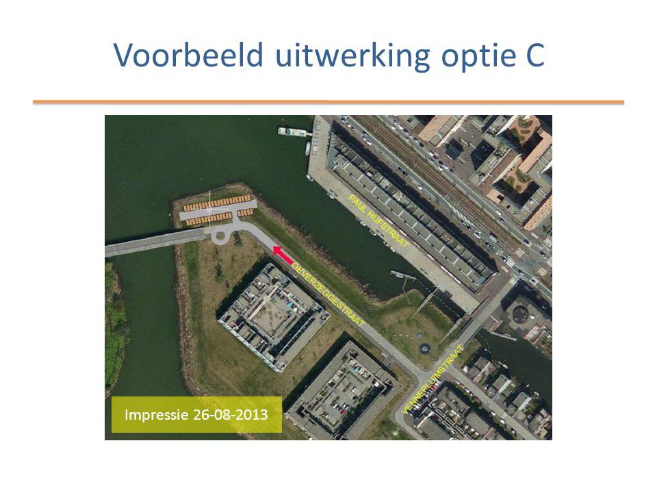 Voorbeeld uitwerking optie C Impressie 26-08-2013