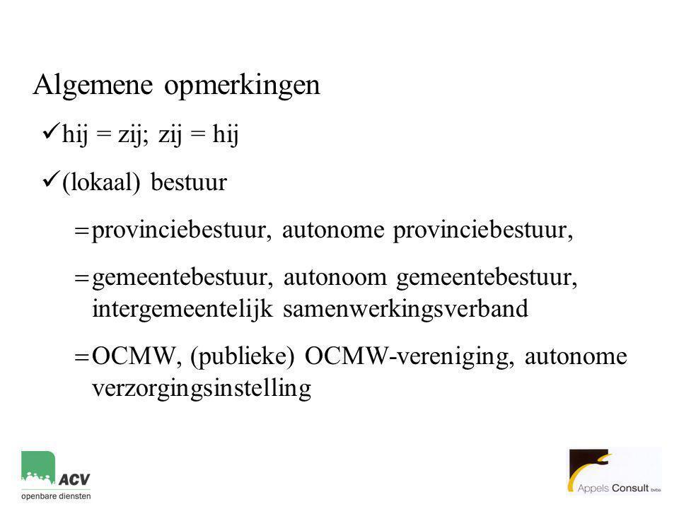 Schema van de uiteenzetting 1.De vaste benoeming in stilte afgeschaft.