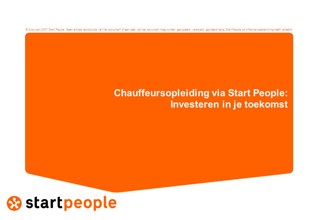- 2 - •Eén van de grootste arbeidsintermediairs van Nederland •Naamsbekendheid van 96% •Circa 1.500 medewerkers •300 vestigingen •10 jaar ervaring in het werken met Leer- werkbanen •Speciale opleidingsadviseurs in dienst Wie is Start People?