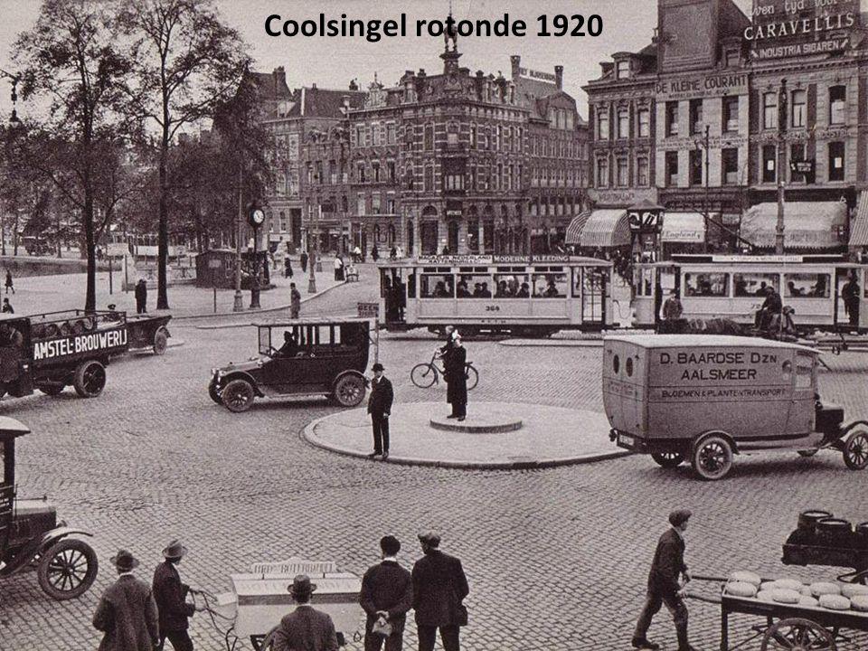 Coolsingel, Delftsepoort 1920