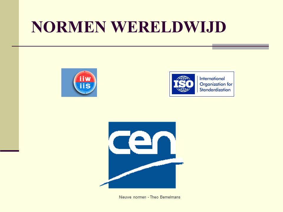 Nieuwe normen - Theo Bemelmans NORMEN WERELDWIJD