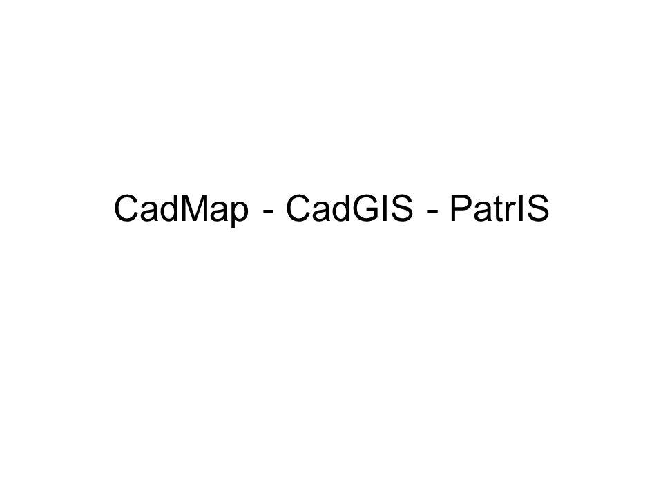 CadMap - CadGIS - PatrIS