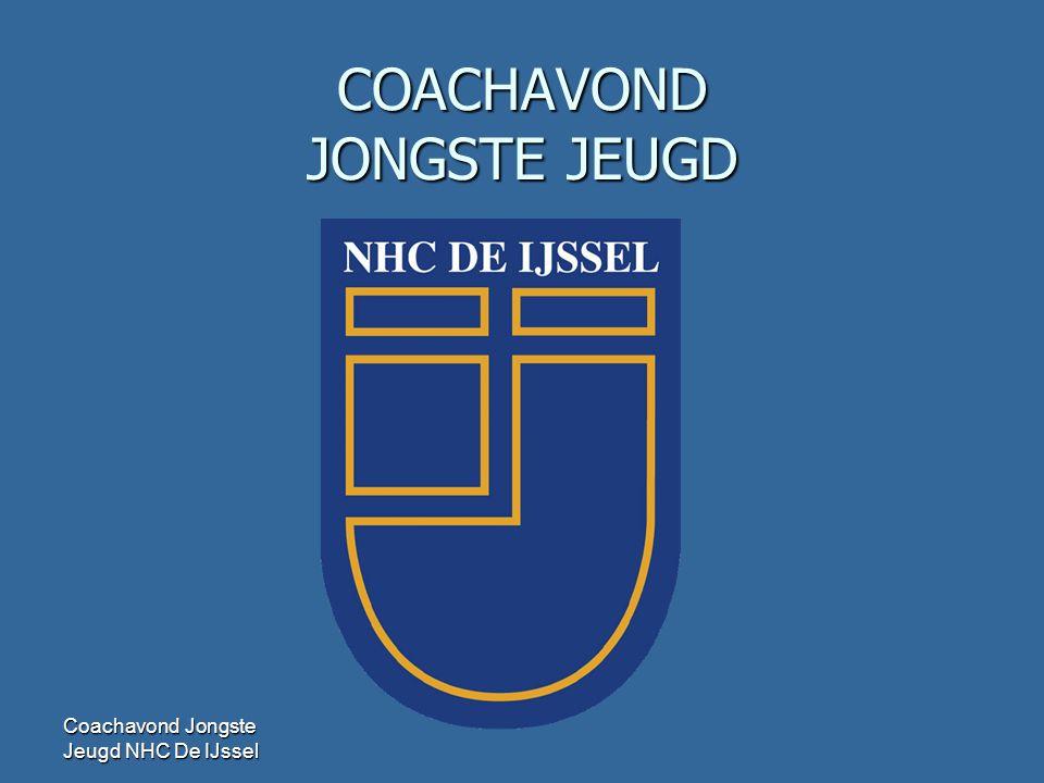Coachavond Jongste Jeugd NHC De IJssel COACHAVOND JONGSTE JEUGD