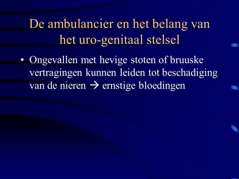 Het uro-genitaal stelsel Bouw en werking •De man –Nieren –Urineleider –Blaas –Urinekanaal –Prostaat –Penis –Teelballen •De vrouw –Eierstokken –Eileide