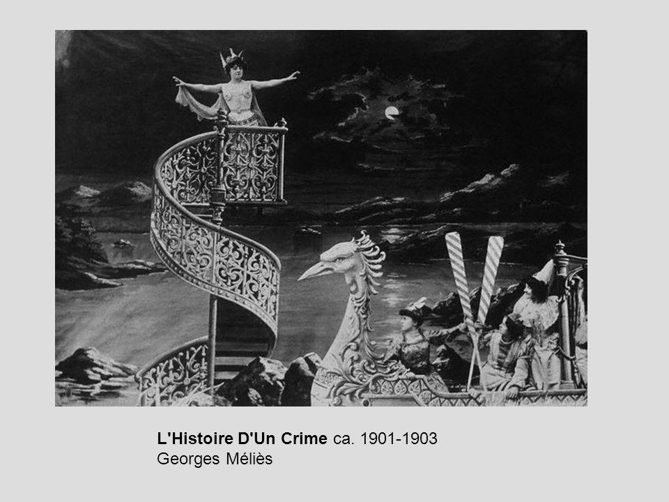 L'Histoire D'Un Crime ca. 1901-1903 Georges Méliès