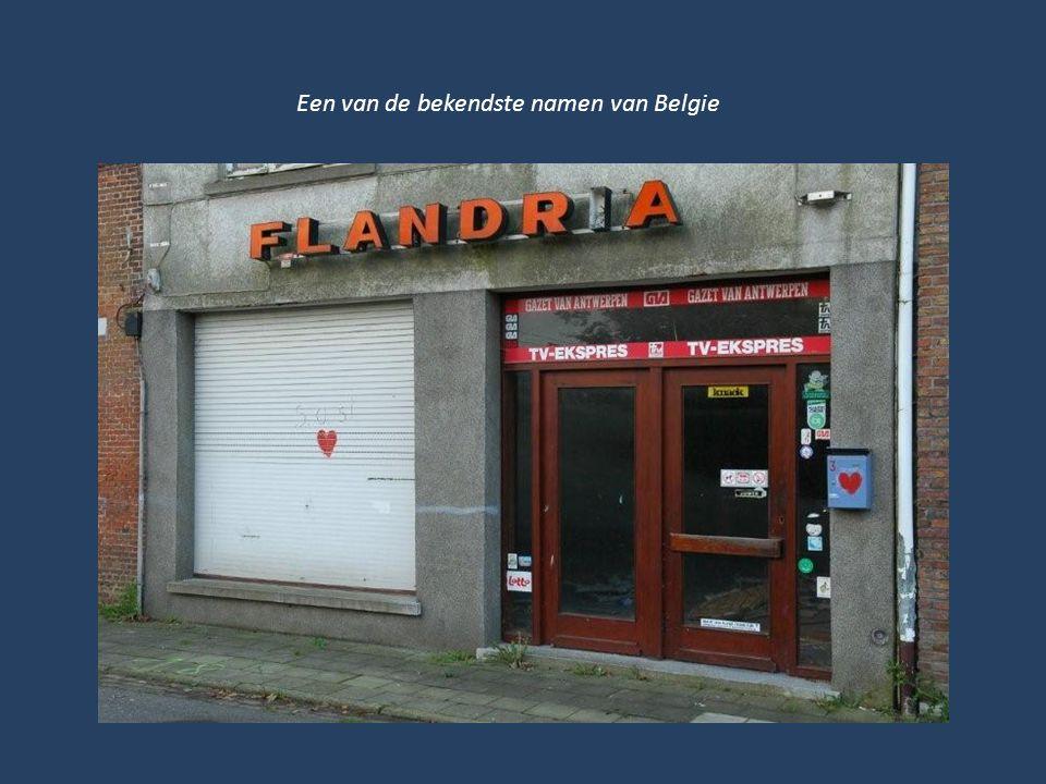 Een van de bekendste namen van Belgie