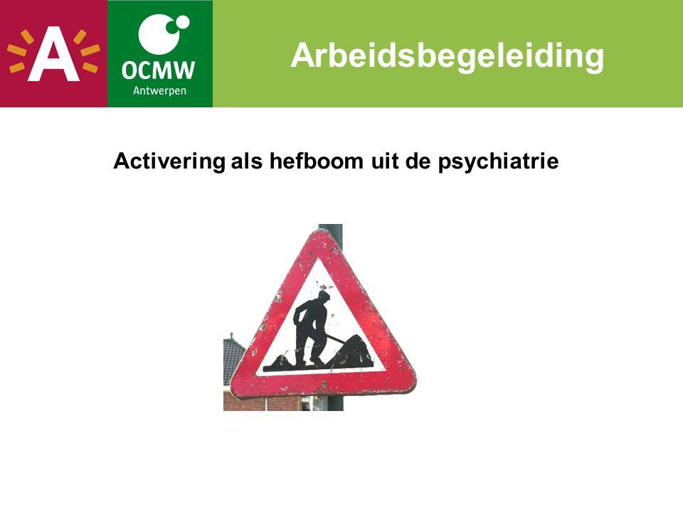 Activering als hefboom uit de psychiatrie Arbeidsbegeleiding