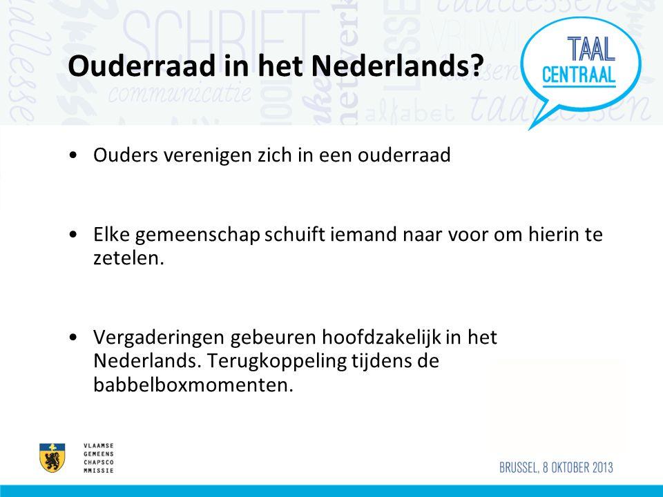 Ouderraad in het Nederlands.