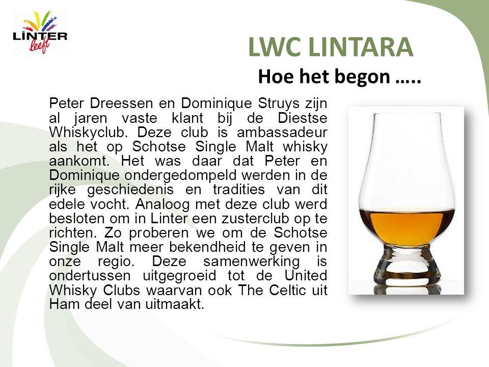 LWC LINTARA Een naam …..Voor de clubnaam werd de geschiedenis van Linter onder de loep genomen.