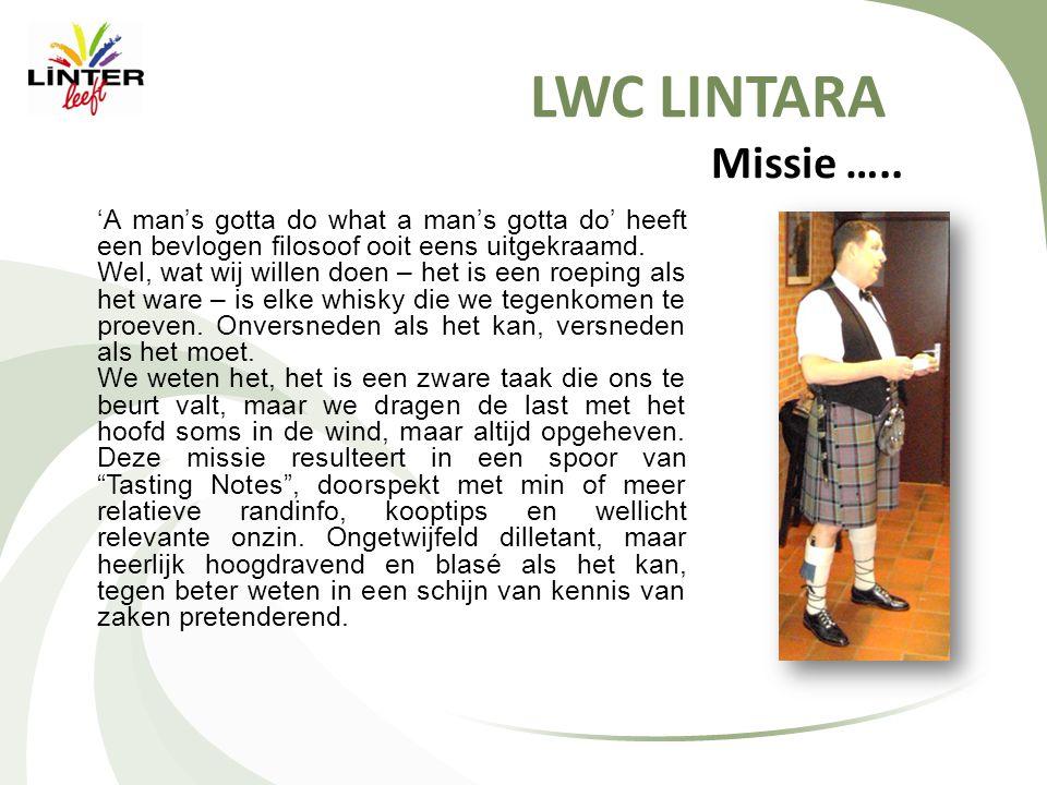 LWC LINTARA Missie …..