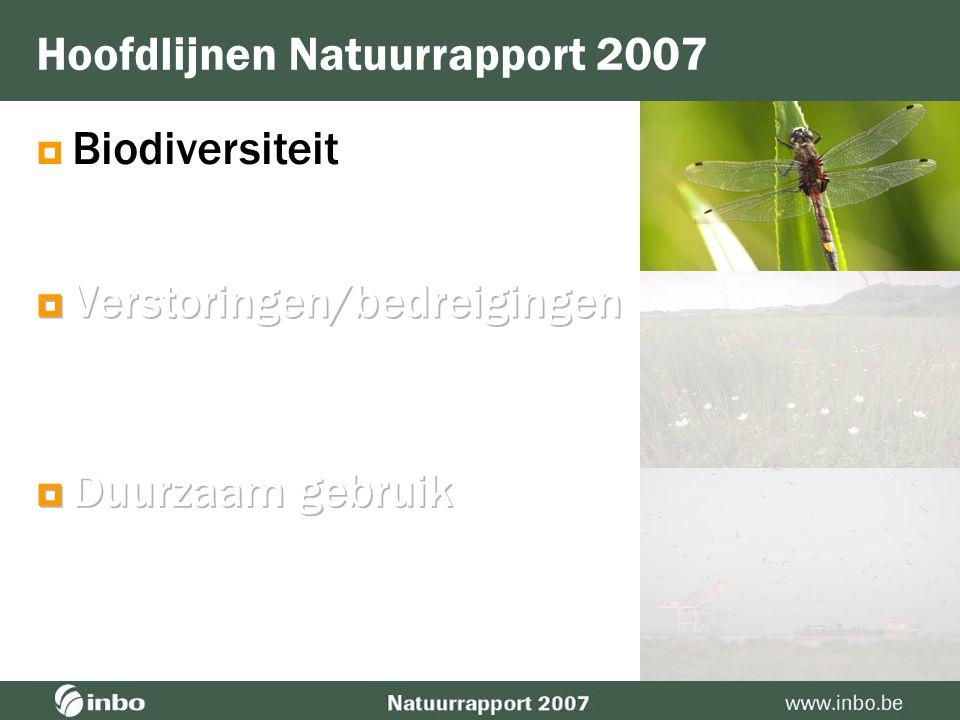  Biodiversiteit Hoofdlijnen Natuurrapport 2007