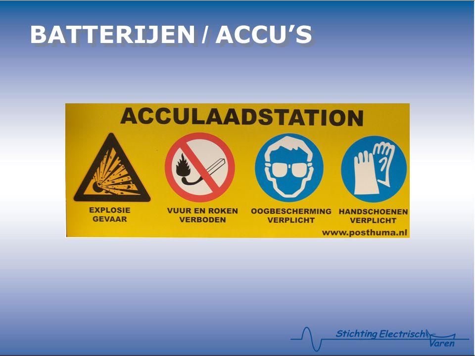 BATTERIJEN / ACCU'S