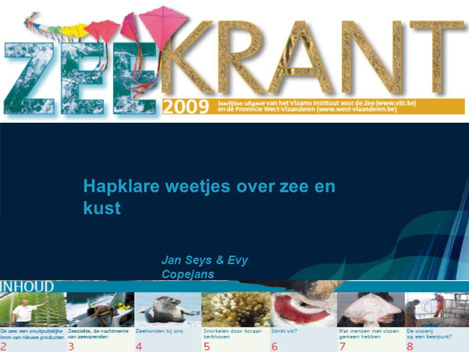 Hapklare weetjes over zee en kust Jan Seys & Evy Copejans