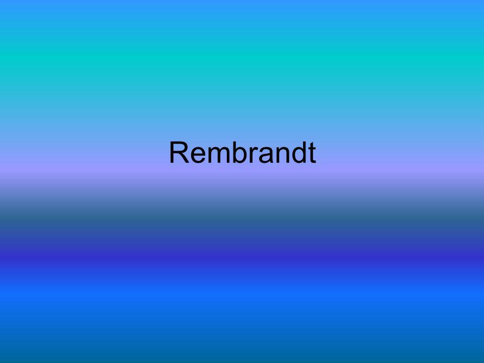 Leraar van Rembrandt •De leraar van Rembrandt heette Pieter Lastman.
