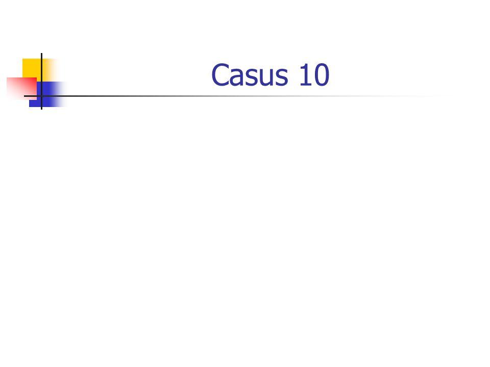 Casus 10