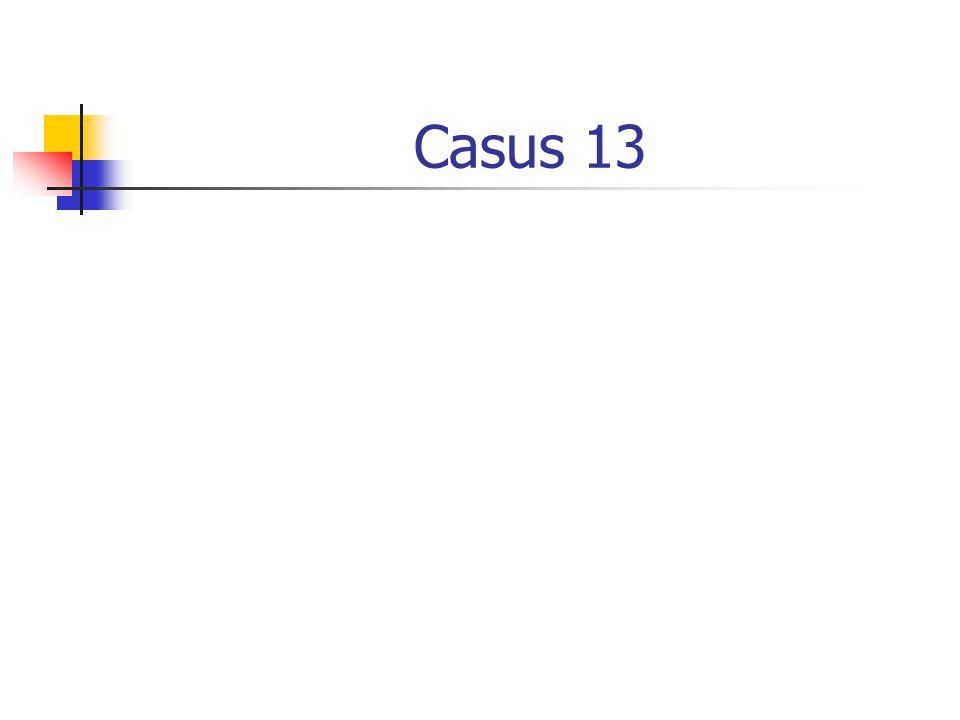 Casus 13