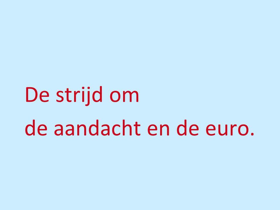 De strijd om de aandacht en de euro.