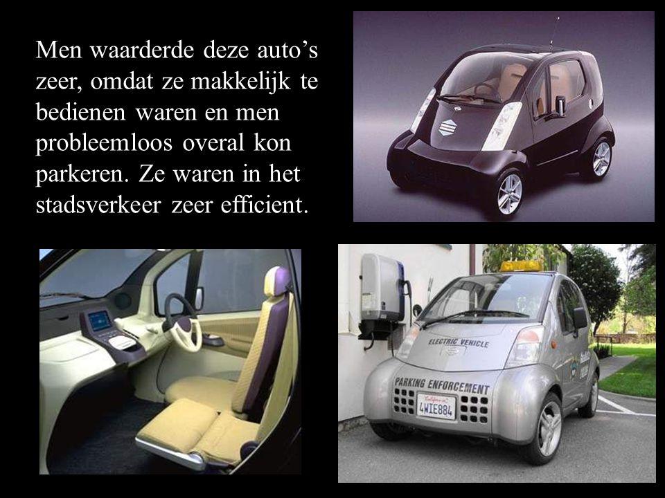 •In 1997 Hypermini •In 1997 presenteerde Nissan de elektro-auto Hypermini in Tokyo. •De gemeente van de stad Pasadena in Californie (USA) besteld deze