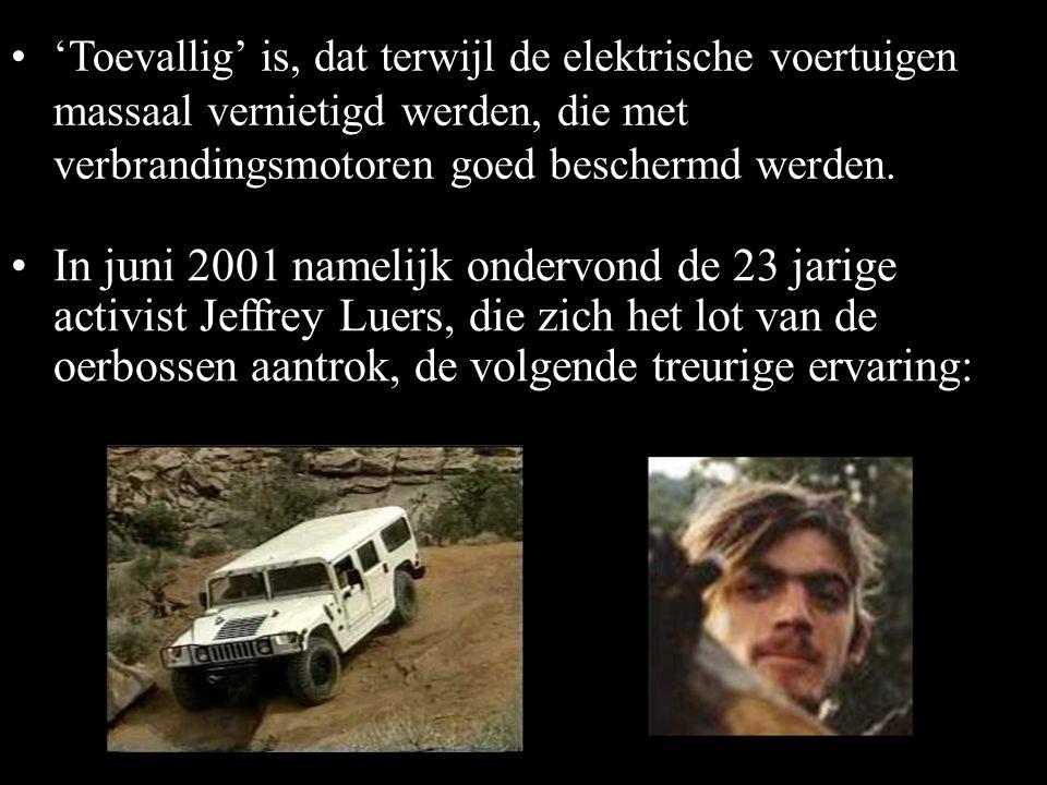 •Desondanks werd het model niet meer geproduceerd en de accu NiMH EV-95 niet opnieuw gefabriceerd. Waarom? •In 2005 kocht de fusie van Chevron-Texaco