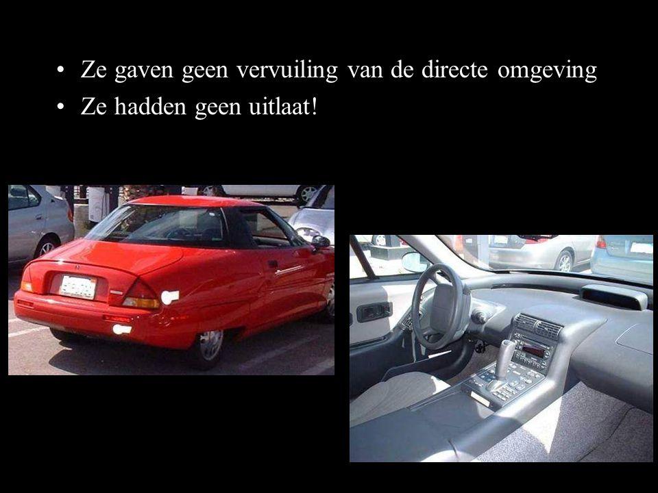 Vraag je dan eens af: •Hoe is het mogelijk dat deze auto's niet wereldwijd worden verkocht.