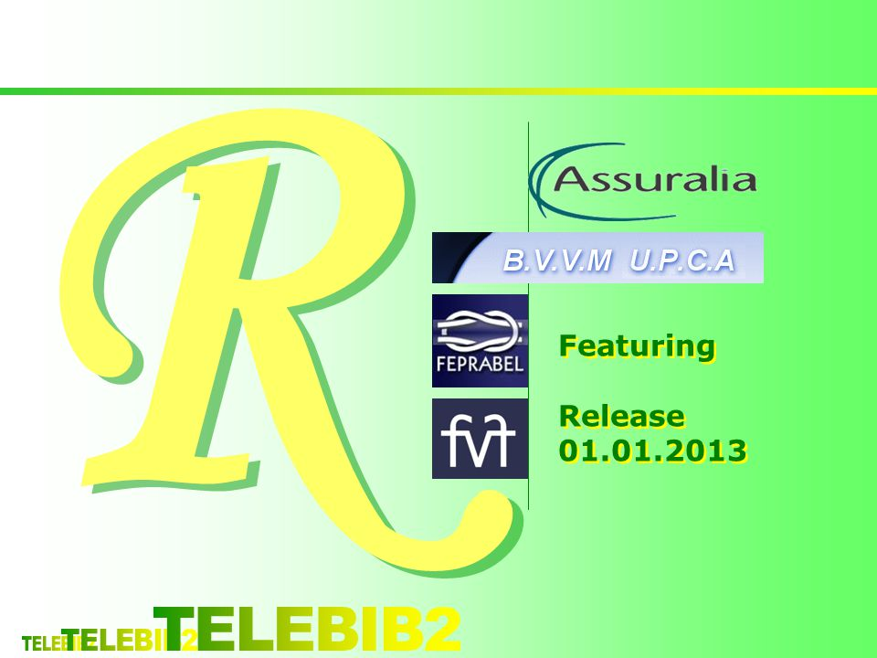 R R Featuring Release 01.01.2013 Featuring Release 01.01.2013