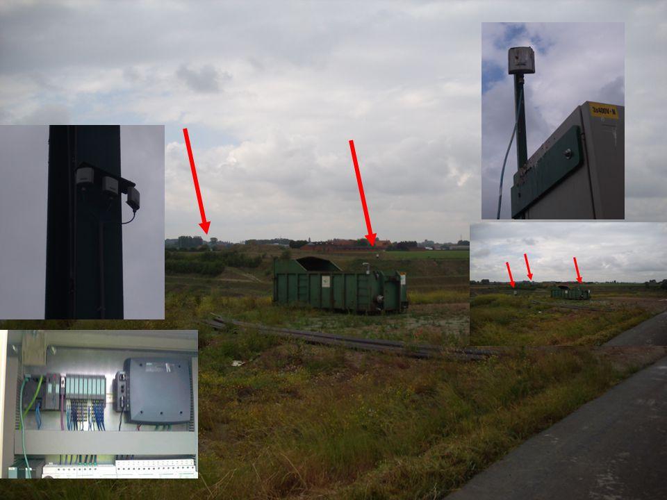 ©2011 CDC-automatisatie BVBA Automatisatie van de pompen op de site 1,5 km
