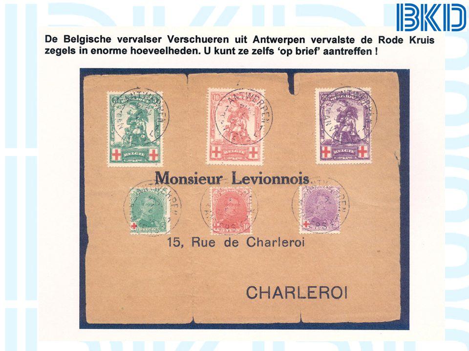 Welke vervalser heeft voor zover bekend geen postzegels van Nederland & O.G.