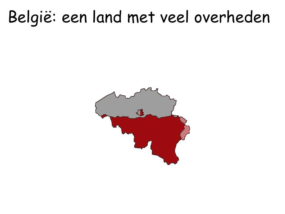 Ik woon in Wallonië België: een land met veel overheden