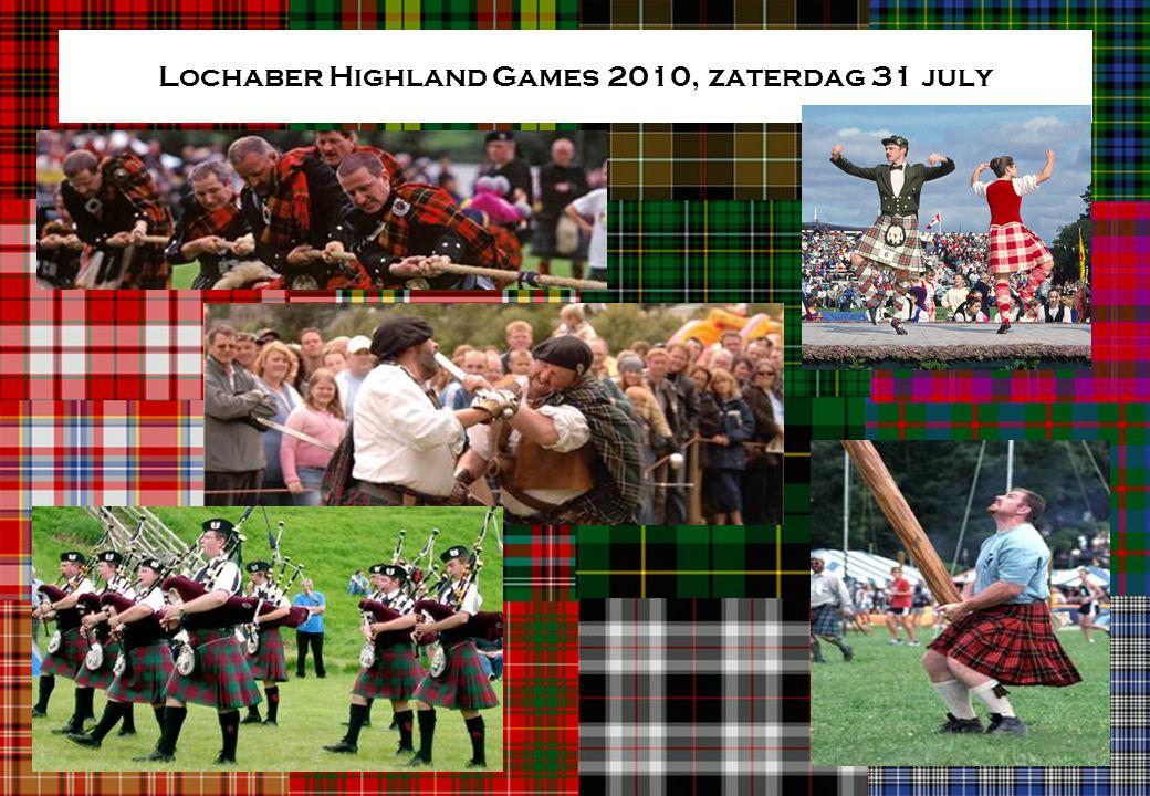Lochaber Highland Games 2010, zaterdag 31 july