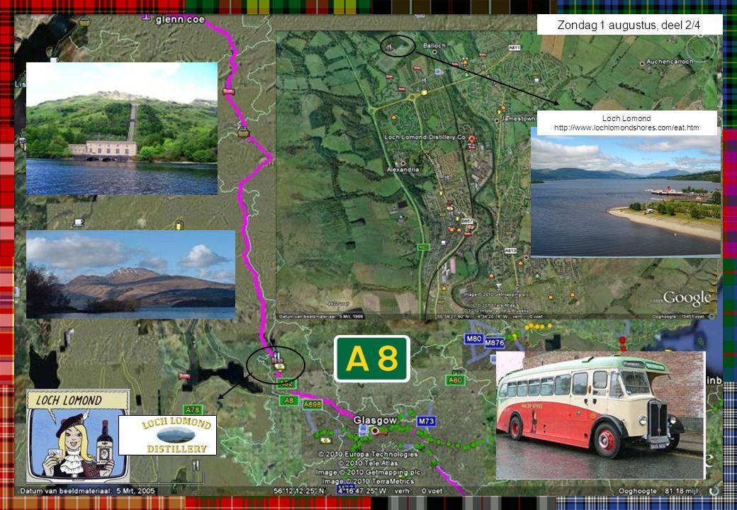 Zondag 1 augustus, deel 2/4 Loch Lomond http://www.lochlomondshores.com/eat.htm