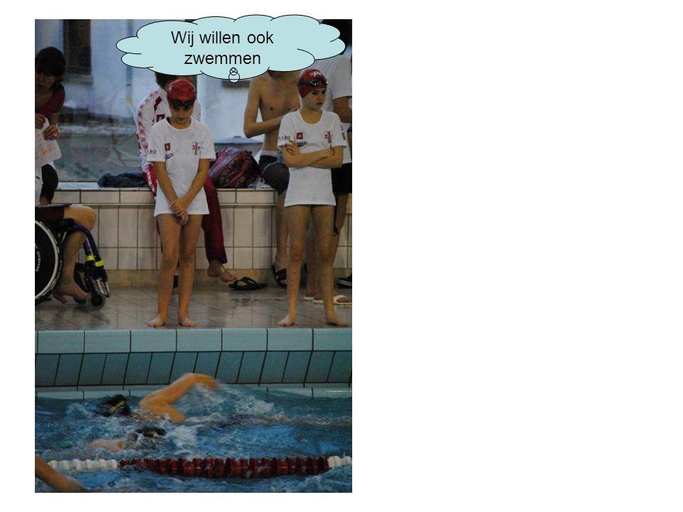 Wij willen ook zwemmen