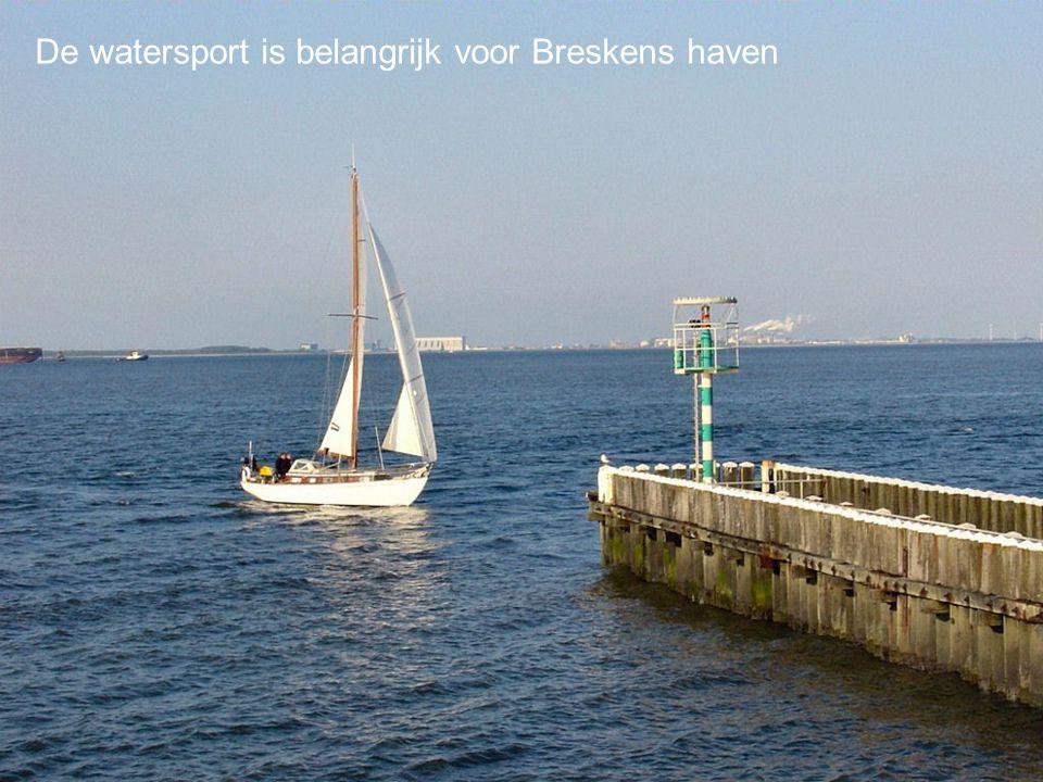 De watersport is belangrijk voor Breskens haven
