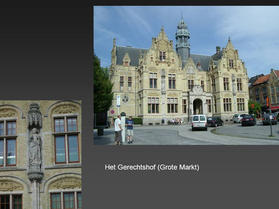 Huis Biebuyck (laat-gotische stijl – 1544) bevindt zich in de Diksmuidestraat. De voorgevel toont dezelfde constructie als de vroegere houten huisjes.