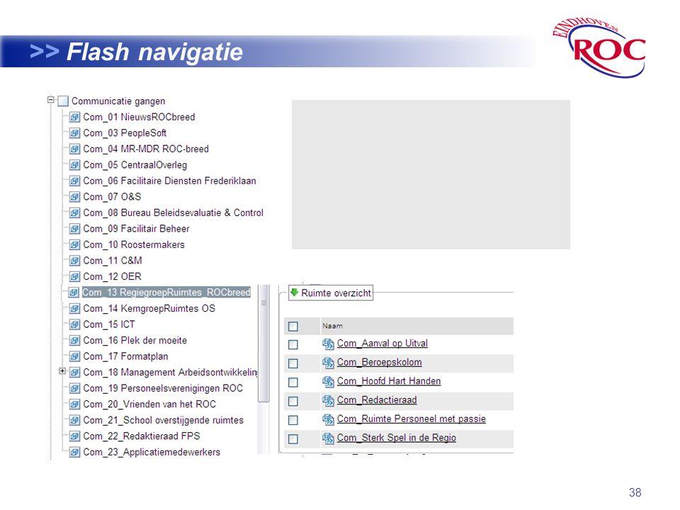 38 >> Flash navigatie