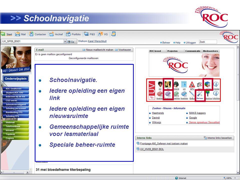 41 >> Schoolnavigatie Schoolnavigatie.