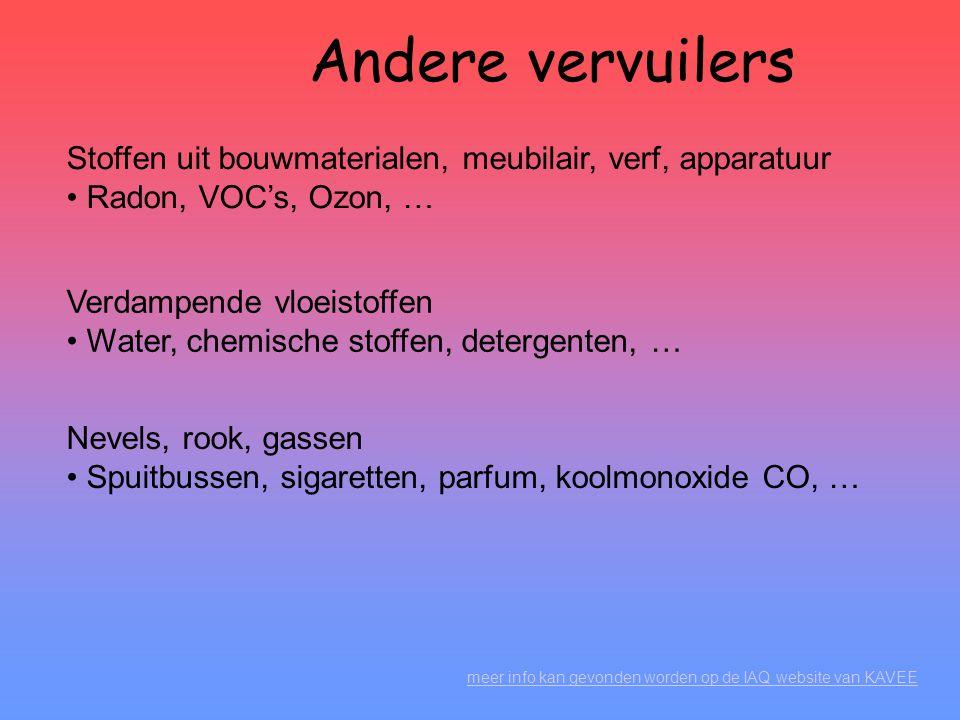 Reglementering Voor de Belgische reglementering verwijzen we naar: • ARAB art.