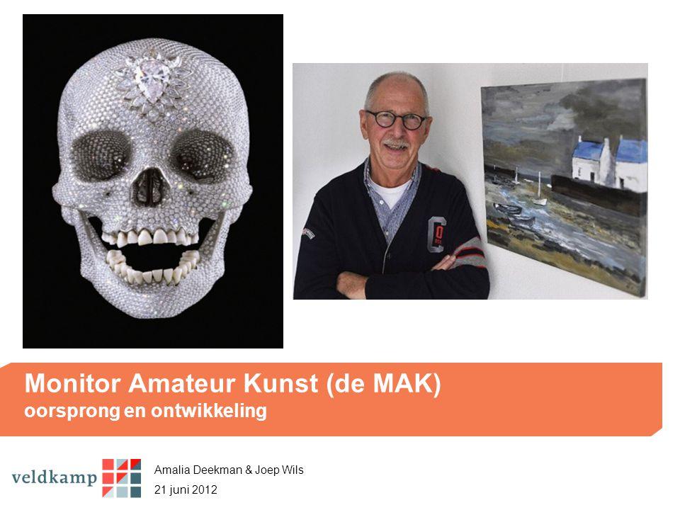 Monitor Amateur Kunst (de MAK) oorsprong en ontwikkeling Amalia Deekman & Joep Wils 21 juni 2012