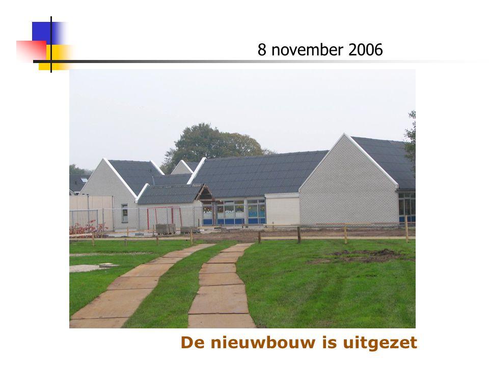 9 november 2006 Er wordt gegraven