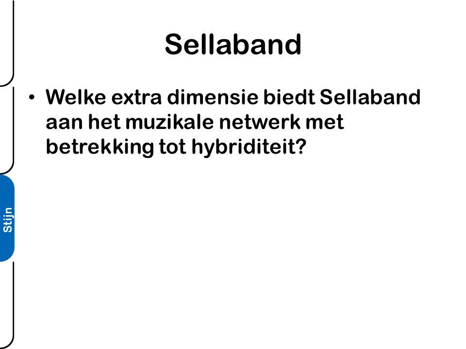Stijn Sellaband • Welke extra dimensie biedt Sellaband aan het muzikale netwerk met betrekking tot hybriditeit?