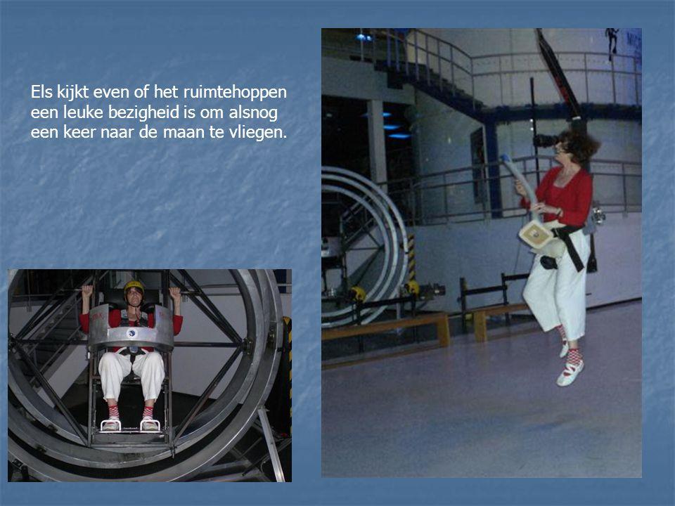 We leren alles over de ruimtevaart.