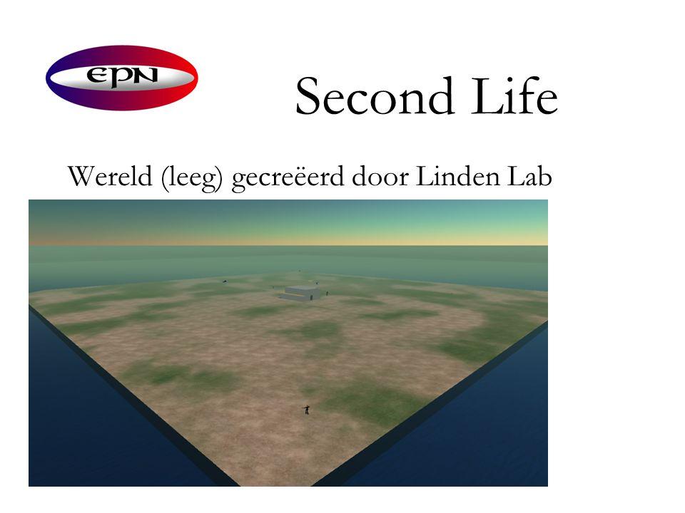 Second Life Wereld (leeg) gecreëerd door Linden Lab